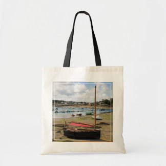 Small Boats   Ploumanac'H, France Budget Tote Bag
