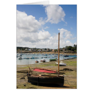 Small Boats | Ploumanac'H, France Greeting Card