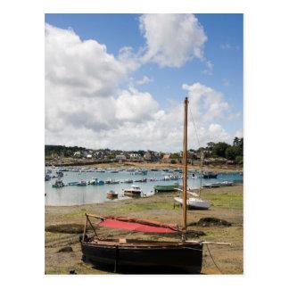 Small Boats | Ploumanac'H, France Postcard
