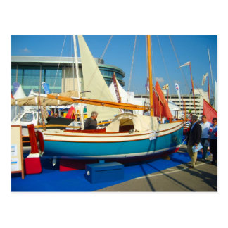 Small boats, Southampton boat show Postcard