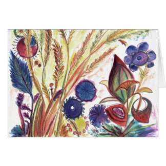 Small Bouquet Garden Card