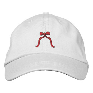 Small Bow Embroidered Baseball Cap