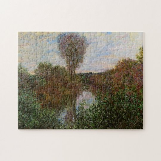 Small Branch of the Seine Monet Fine Art Jigsaw Puzzle