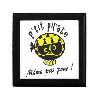 Small Breton Pirate Small Square Gift Box