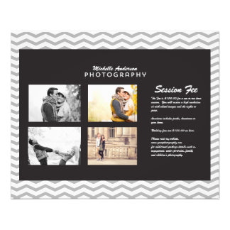 Small Brochure for Photography Business 11.5 Cm X 14 Cm Flyer