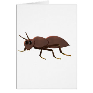Small brown ant card