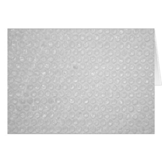 Small Bubble Wrap Texture Greeting Card