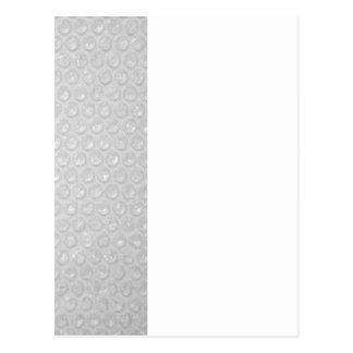 Small Bubble Wrap Texture Postcard