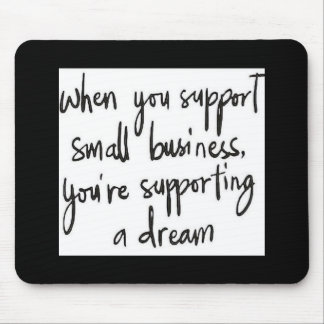 Small business inspiration mouse pad