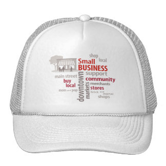 Small Business, Shop Local, Buy Local Mesh Hat