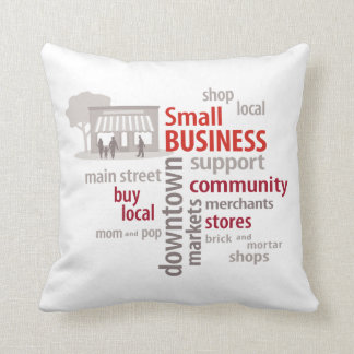 Small Business, Shop Local, Buy Local Cushions