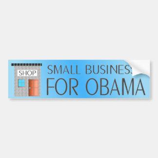 Small businesses for Obama Bumper Sticker