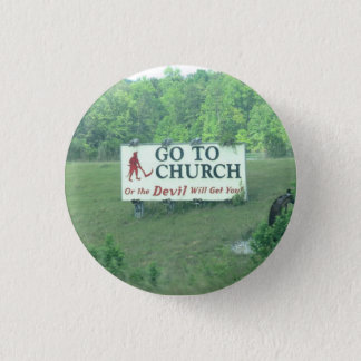 Small Button- Alabama Sign 3 Cm Round Badge