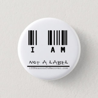 "Small Button - ""Not a Label"""