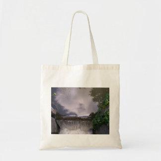 Small Caledonia Waterfall Budget Tote Bag