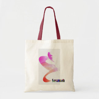 Small Canvas Bag with drawings