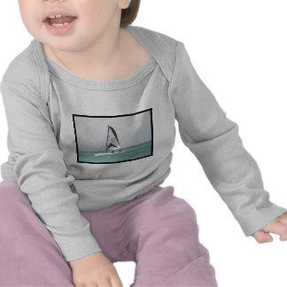 Small Catamaran Sailboat Baby T-Shirt