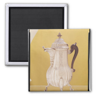 Small coffee pot magnet