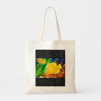 Small colorful tote budget tote bag