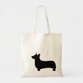 Small Corgi Tote Bag