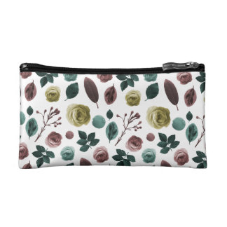 Small Cosmetic Bag flower