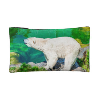 Small Cosmetic  Bag polar bear