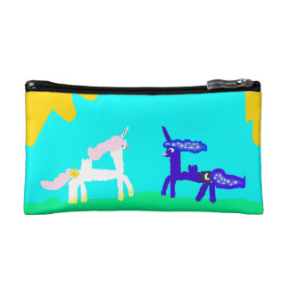 Small Cosmetic Ponies Design Bag