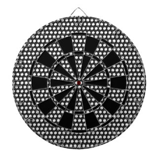 Small crystal sequins dartboard