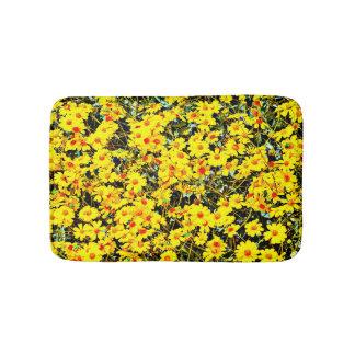 Small Custom Bath Mat - Wild Flowers