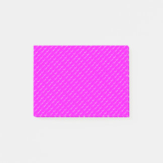 Small Custom Text | Violet Post-it Notes