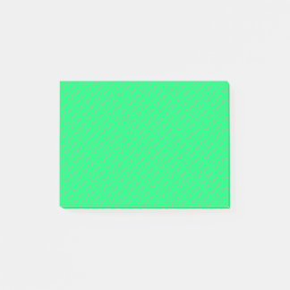 Small Custom Texts | Turquoise/Green Post-it Notes
