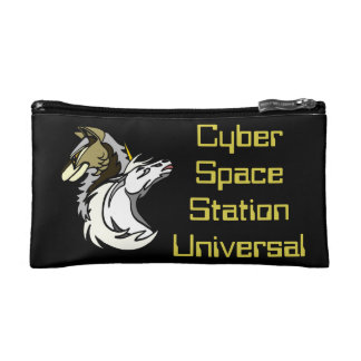 Small Cyber Space Station Universal Cosmetics Bag Cosmetic Bag