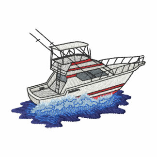 Small Deep- Sea Fishing Boat Polos