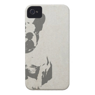 Small Dog Print graphic iPhone 4 Covers