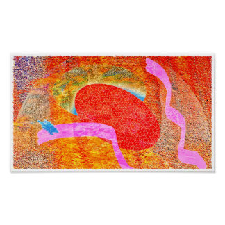 Small Dreamtime - Canvas Print