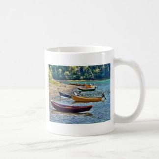 Small East Coast  Ftishermen Boats Mugs