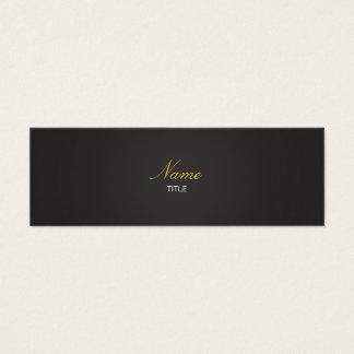 Small Elegante Mini Business Card