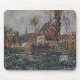 Small Farm by the Eure River by Gustave Loiseau Mousepad