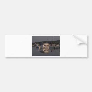 Small Fishing Boat Bumper Sticker