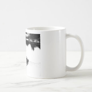 Small Fishing Boat in Pen and Ink Basic White Mug