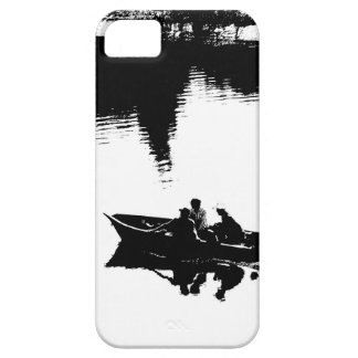 Small Fishing Boat in Pen and Ink Case For The iPhone 5