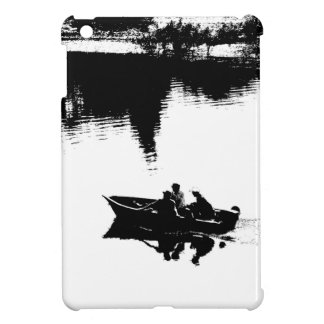 Small Fishing Boat in Pen and Ink iPad Mini Case