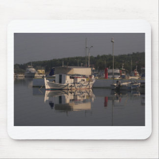 Small Fishing Boat Mouse Pad