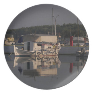 Small Fishing Boat Party Plates