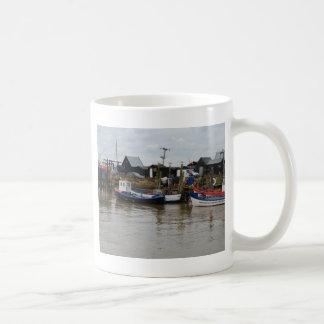 Small Fishing Boats Coffee Mugs