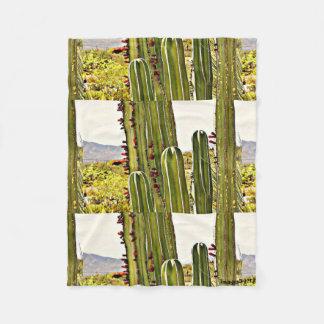 Small Fleece Blanket - Stove Pipe Cactus