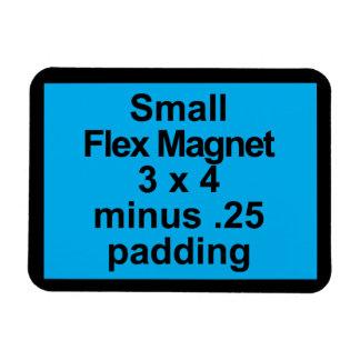 Small Flex Magnet Template Horizontal Fit Black BG