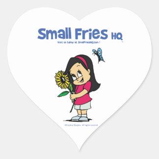 Small Fries HQ Becky Sticker Heart