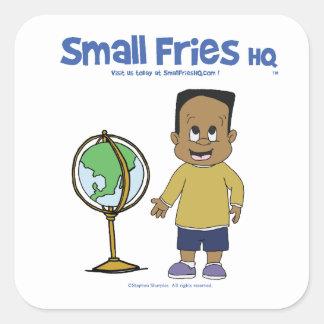 Small Fries HQ Raymond Sticker Sq
