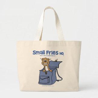 Small Fries HQ Tote Bag Jumbo